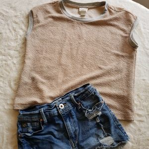 Tops - Boxey tee with sparkles